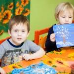 рисование в детском саду
